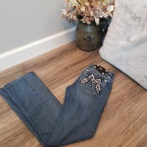 Miss Me jeans bootcut size 27 waist 31 length